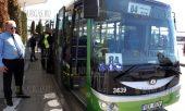 23 марта 2017 года, аэропорт Софии, здесь в тестовом режиме начал перевозить пассажиров электробус, который на одной зарядке может проехать около 180 км