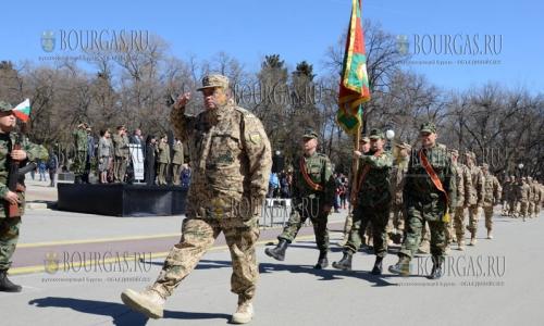 23 марта 2017 года, Стара-Загора, здесь встретили военнослужащих 32-го контингента Болгарской армии, которые ввернулись из Афганистана