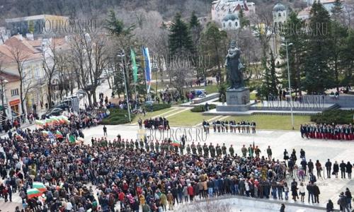 3 марта 2017 года, Враца, празднование национального праздника - Третьего марта