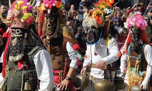 5 марта 2017 года, село Широка Лыка, здесь прошел традиционный кукерский праздник - Песпонеделник