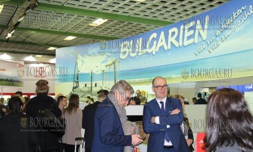8 марта 2017 года, Министерство туризма Болгарии принимает участие в международной туристической выставке - ITB, которая проходит в Берлине, Туристическая Болгария