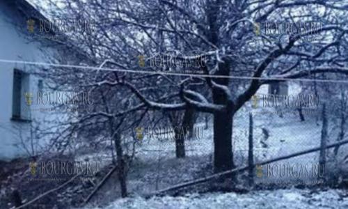 В марте снег на Юге Болгарии - норма