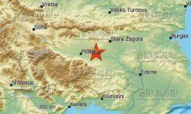 землетрясение в Болгарии - Чирпан