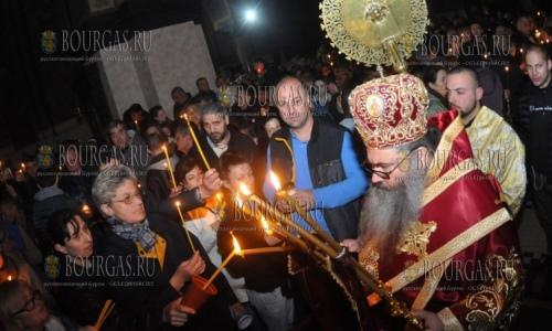 16 апреля 2017 года, празднование Пасхи в Варне