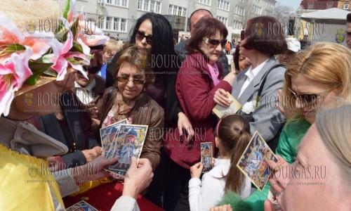 16 апреля 2017 года, в Бургасе как и обещали раздали 3 000 икон