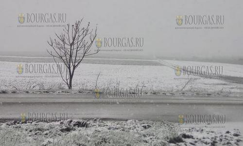 20 апреля 2017 года, Тырговиште, в третьей декаде апреля сюда вернулась зима