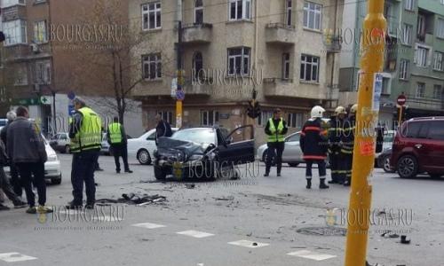 23 апреля 2017 года, София, авария на бул Александр Стамболийски, трое пострадавших
