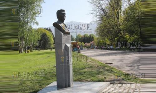 27 апреля 2017 года, Южный парс в Софии, здесь установили бронзовый бюст 40-му президенту США, Рональду Рейгану