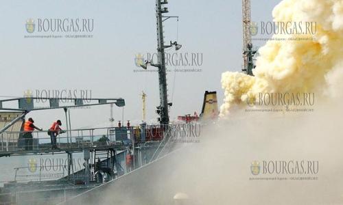 3 апреля 2017 года, на российском танкере, который зашел на ремонт в Варну произошел взрыв