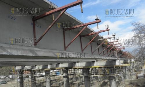 4 апреля 2017 года, селегние Микрево , над рекой Струма сооружается 700-метровый виадук, согласно плана строительства автомагистрали Струма