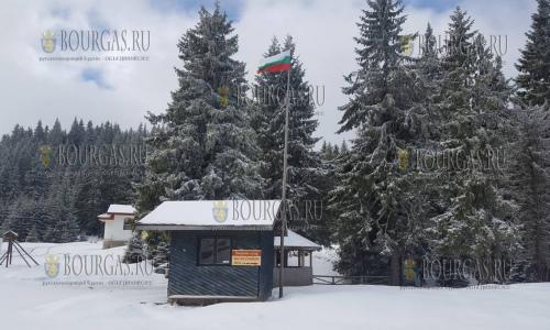 9 апреля 2017 года, болгарские горы Родопи на Цветницу - тут еще зима