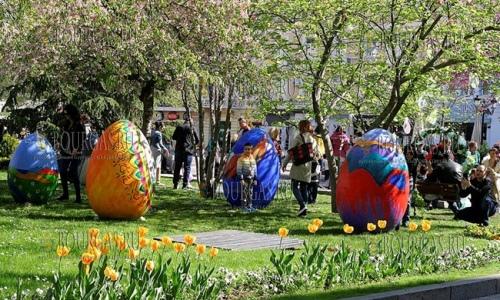 9 апреля 2017 года, Пловдив празднует Цветницу