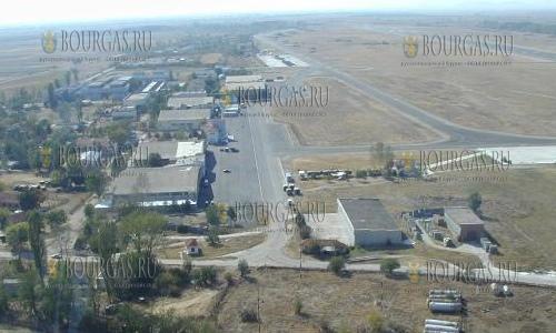 авиа база ВВС Болгарии Граф Игнатиево