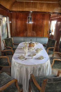 царский вагон в составе Корона экспресс