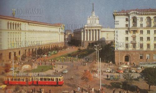 ЦУМ в Софии в 1960 году находился на площади Ленина
