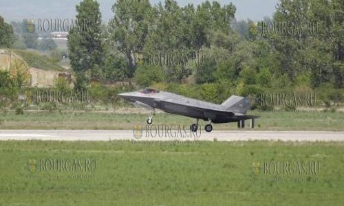 Истребители ВВС США F-35 в Болгарии