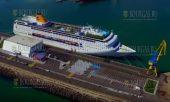 Круизный сезон в Бургасе сегодня был открыт, первое в этом году круизное судно - Costa neoRiviera, пришвартовалось в морском порту