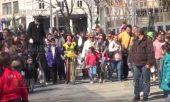 Лазарки на улицах Бургаса - 8 апреля 2017 года