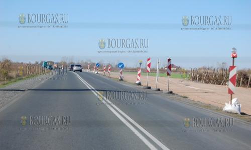 Транспортная инфраструктура на участке Солнечный Берег - Поморие - Бургас - Созополь
