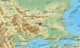 Землетрясение на Юге Болгарии, в районе Чирпан