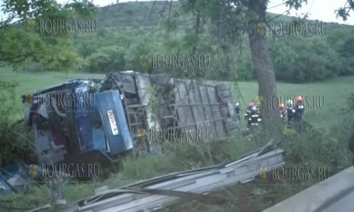3 мая 2017 года, на трассе Варна-Видин, выехал с трассы и перевернулся в кювете рейсовый автобус - один человек погиб и как минимум, 12 пострадали
