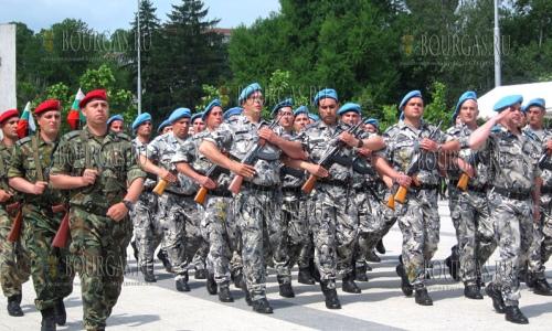 5 мая 2017 года, Плевен, здесь торжественно отметил День храбрости и день Болгарской армии