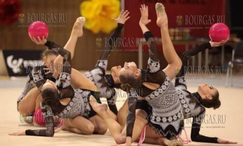 6 мая 2017 года, Арена Армеец - София, сборная Болгарии завоевала золото в многоборье на этапе Кубка Мира по художественной гимнастике