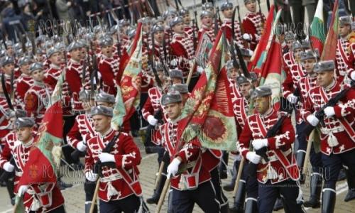 6 мая 2017 года, София, военный парад по случаю Дня Святого Георгия и Дня болгарской армии