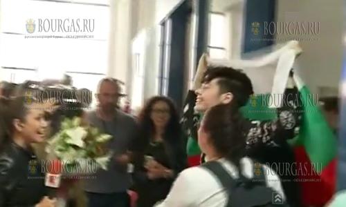 Кристиан Костов в Болгарии, болгарский участник Евровидения-2017 вернулся домой
