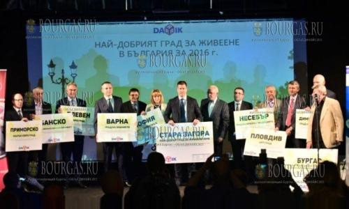 Лучший город Болгарии в 2016 году