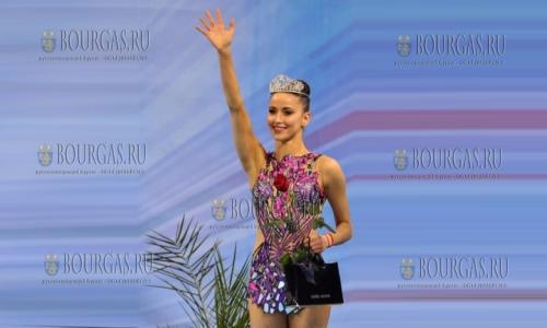 Невяна Владинова - королева красоты этапа Кубка Болгарии в Софии