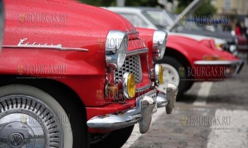 Парад ретро автомобилей в Софии