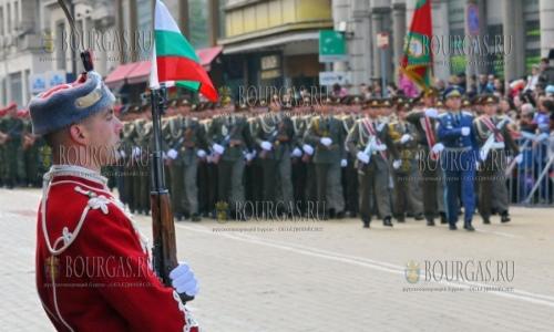 София готовится к параду, который пройдет 6-го мая