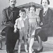 болгарский царь Борис III с семьей незадолго до своей гибели