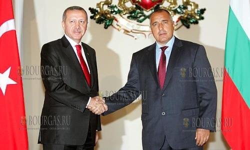 Бойко Борисов в Турции