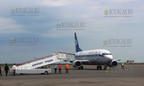 Гродно и Бургас соединит чартерное авиасообщение