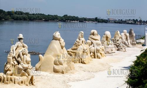 Международный фестиваль песчаных фигур в Русе