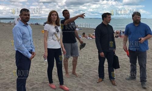 Николина Ангелкова проверила состояние и работу пляжей в Бургасе и регионе