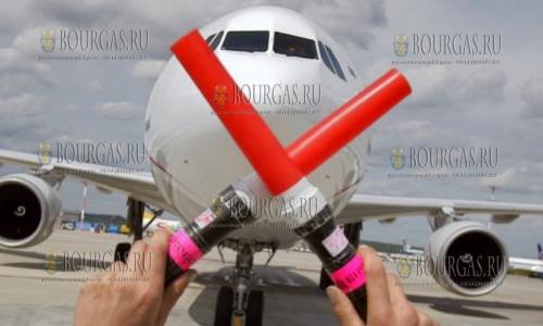 отменяет чартерные рейсы в Бургас
