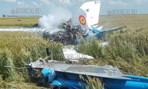 На совместных румыно-болгарских учениях Thracian Eagle 2017 разбился самолет