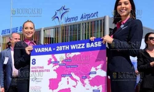 Бюджетная авиакомпания Wizz Air в Болгарии открывает свою вторую базу в стране