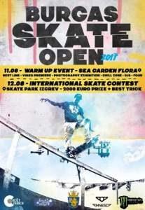 Burgas Skate Open 2017