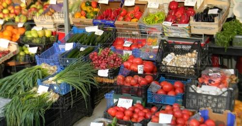 Цены на фрукты и овощи в Болгарии