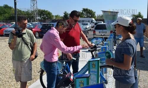 Электро-велосипед в Бургасе берите напрокат