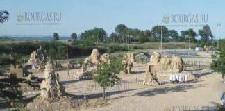 Фестиваль песчаных скульптур в Бургасе 2017