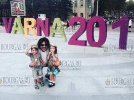 Филипп Киркоров со своими детками в Варне