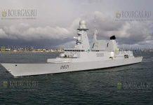 Фрегат ВМС Франции Шевалье Поль - направляется в Варну