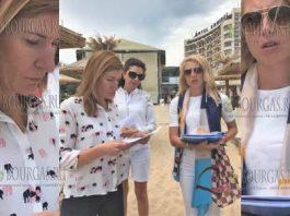 Министерство туризма Болгарии проверило состояния пляжа Золотые пески