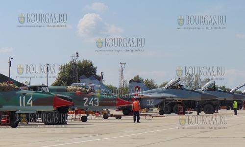 Истребители ВВС Италии охраняют небо Болгарии