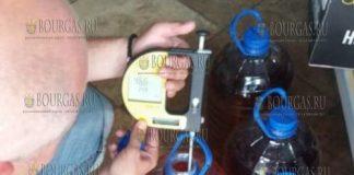 Нелегальный алкоголь в Равде задержали сотрудники болгарских таможенных органов